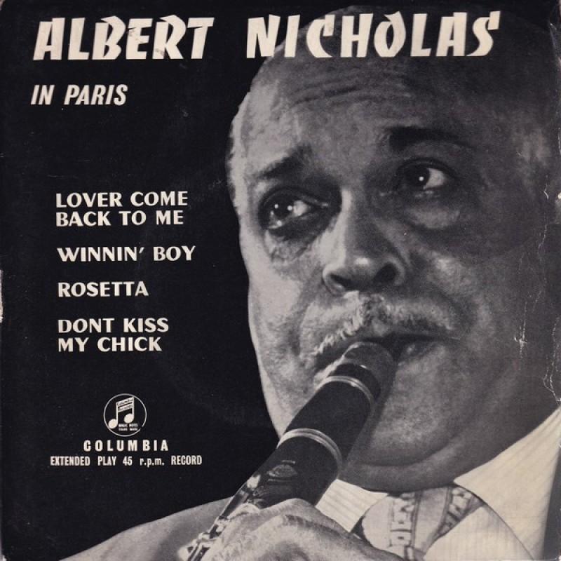 """Albert Nicholas in Paris"" Vinyl Single - Albert Nicholas, 1956"