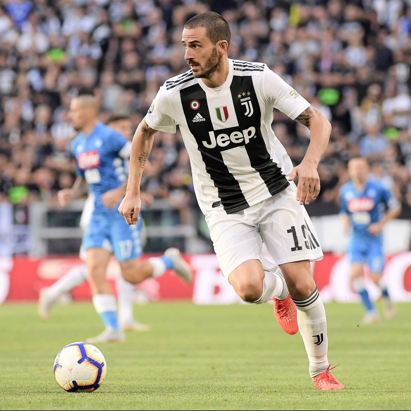 Official Serie A 2018/19 Football - Signed by Bonucci