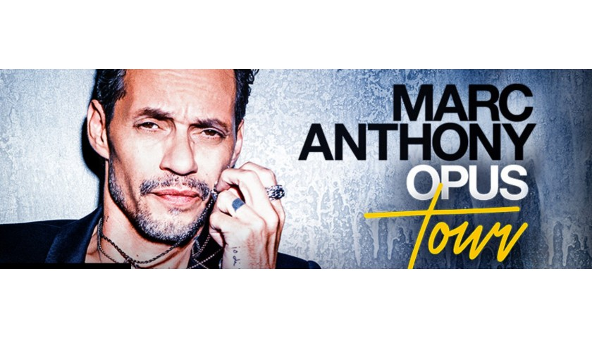 Meet Marc Anthony in February in Washington DC!
