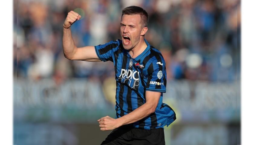 Ilicic's Official Atalanta Signed Shirt, 2019/20