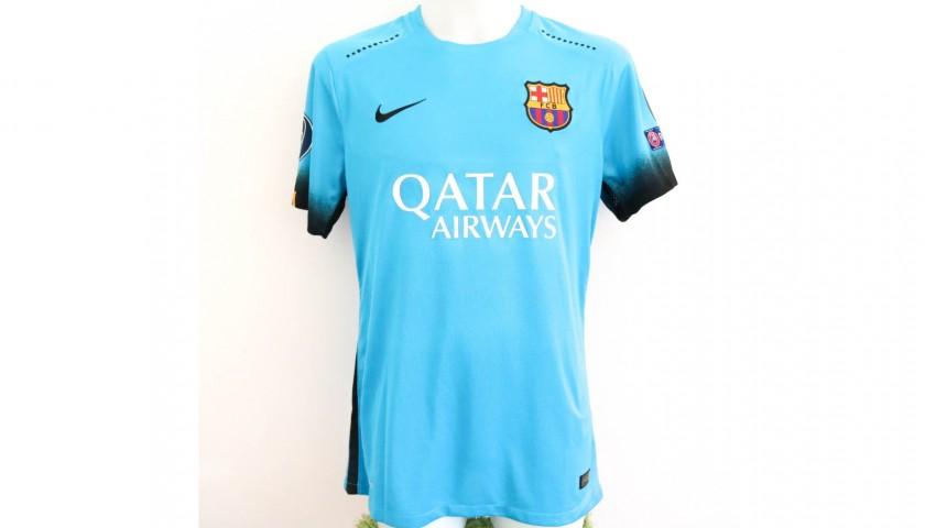 0afbdb138 Messi s Barcelona Match-Issue Worn Shirt