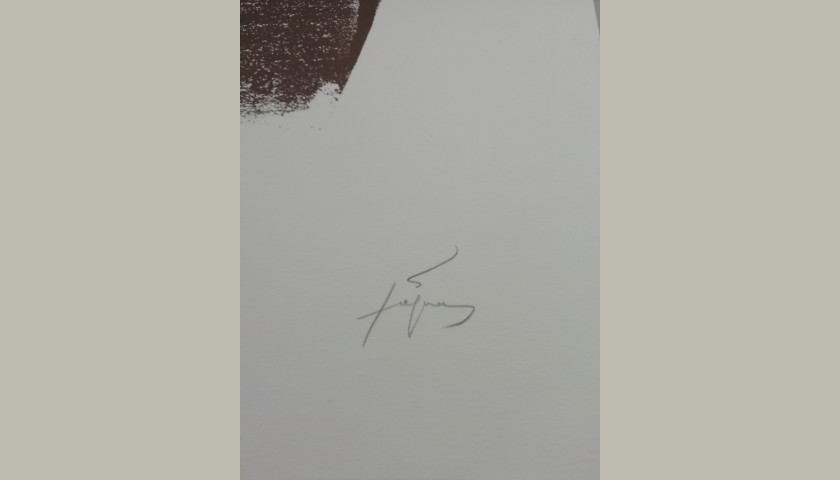"""""""Untitled"""" by Antoni Tapies"""