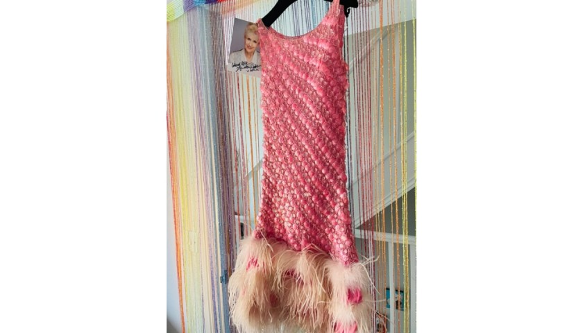 Pink Sequinned Show Dress- Worn by Anita Dobson