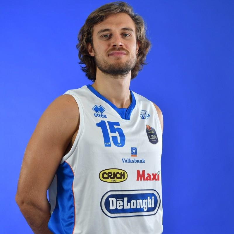 Completo da gara ufficiale De'Longhi Treviso Basket, indossato da Matteo Chillo nella stagione 2019/20 in Serie A