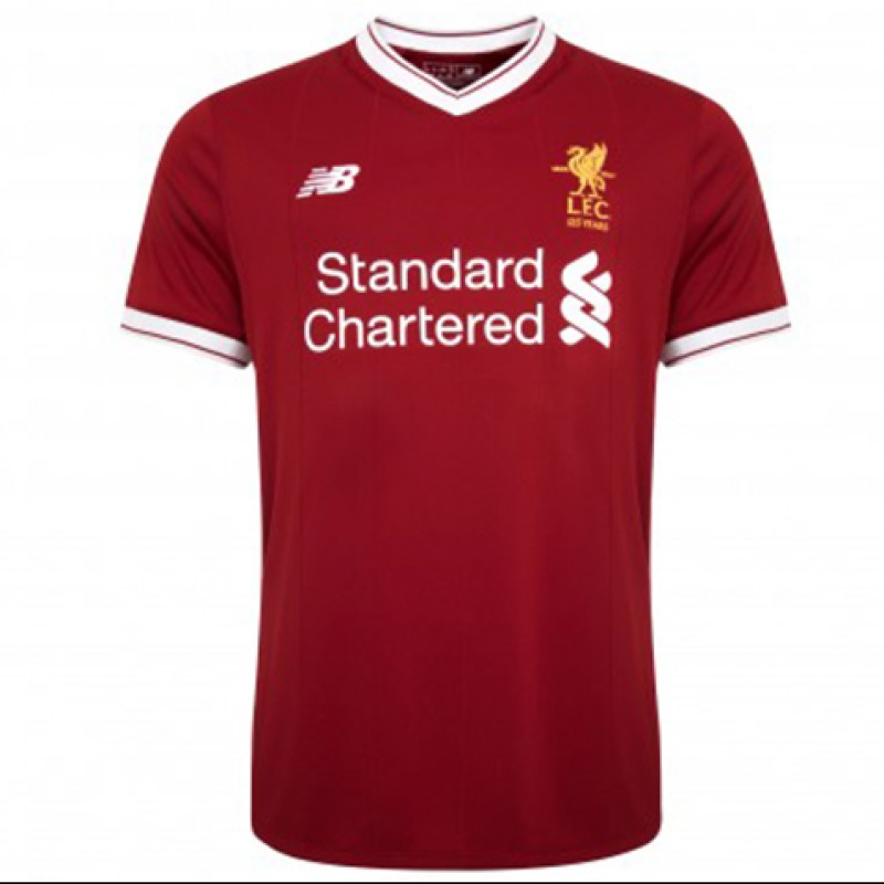 LFC 17/18 Home Shirt Signed and Personalized by Jürgen Klopp