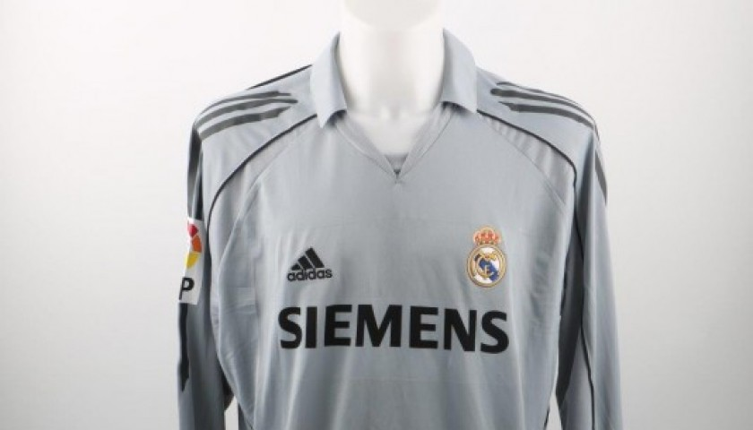 reputable site c2dd6 72c68 Beckham Real Madrid match worn shirt, La Liga 2005/2006 - CharityStars