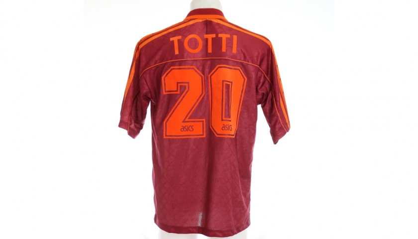 Totti's Roma Match-Issued Shirt, 1995/96