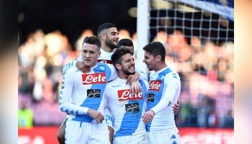 Official Napoli 2016/17 Shirt - Signed by the Players