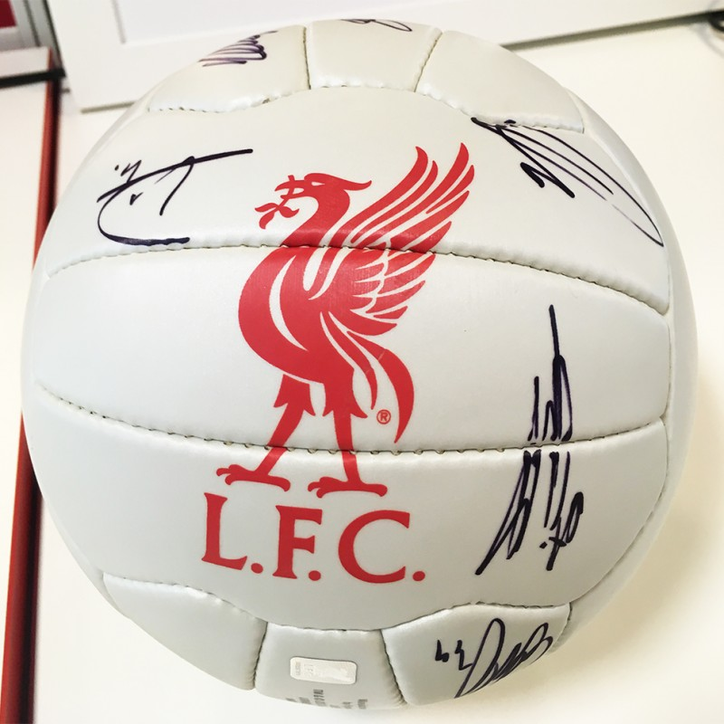 d3650458b LFC 1st Team Signed Football