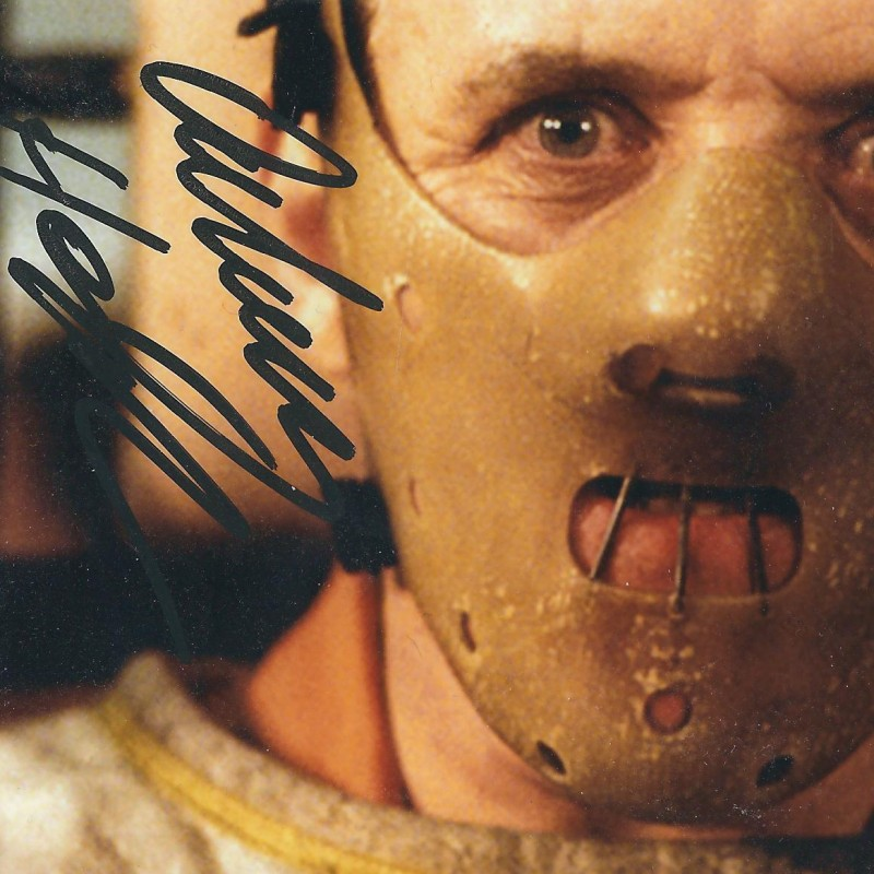 Anthony Hopkins, hand signed photo (The silence of the lambs)