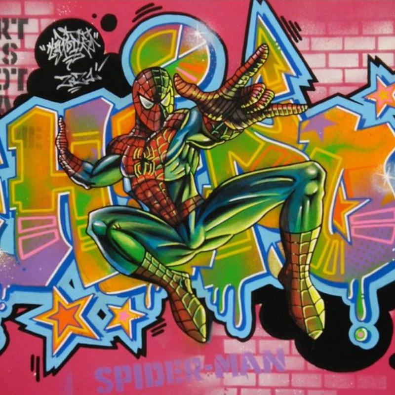Graffiti Spiderman by Hipo