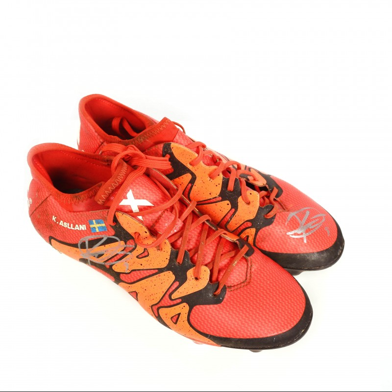 Signed Kosovore Asllani Boots