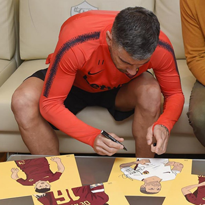 Kolarov Signed Drawing