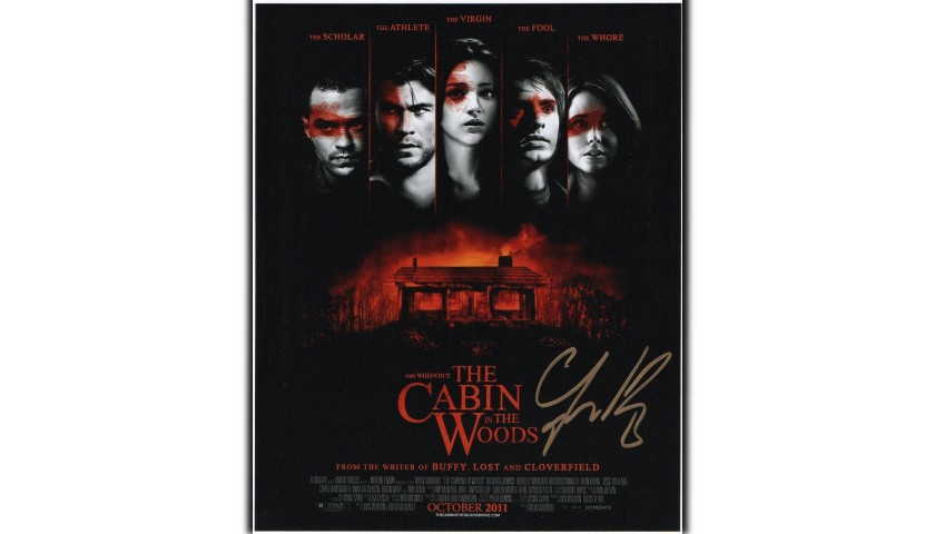 """""""The Cabin in the Woods"""" - Photograph Signed by Fran Kranz"""