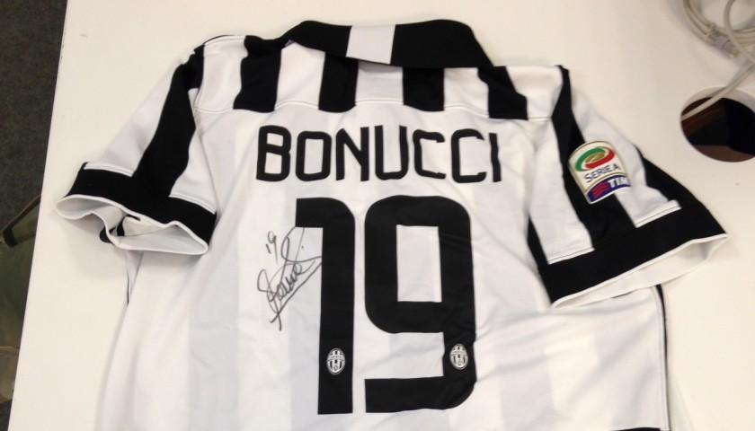 Bonucci Juventus shirt, Serie A 2014/2015 - signed - CharityStars