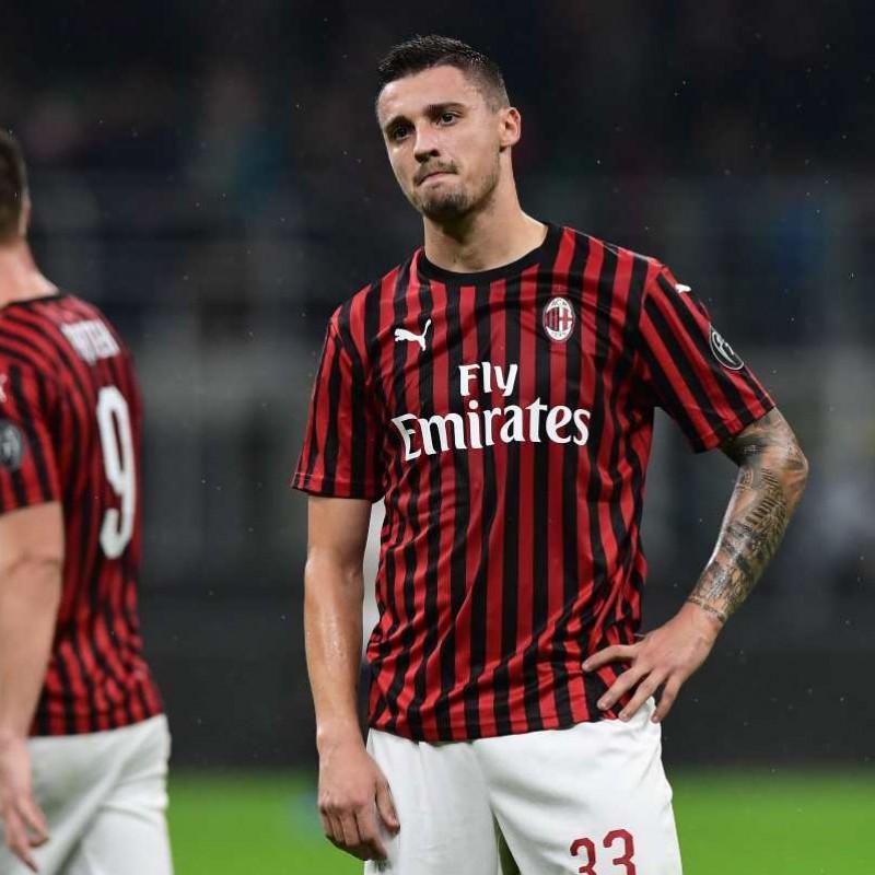 Krunic's AC Milan Worn and Unwashed Shirt, 2019/20