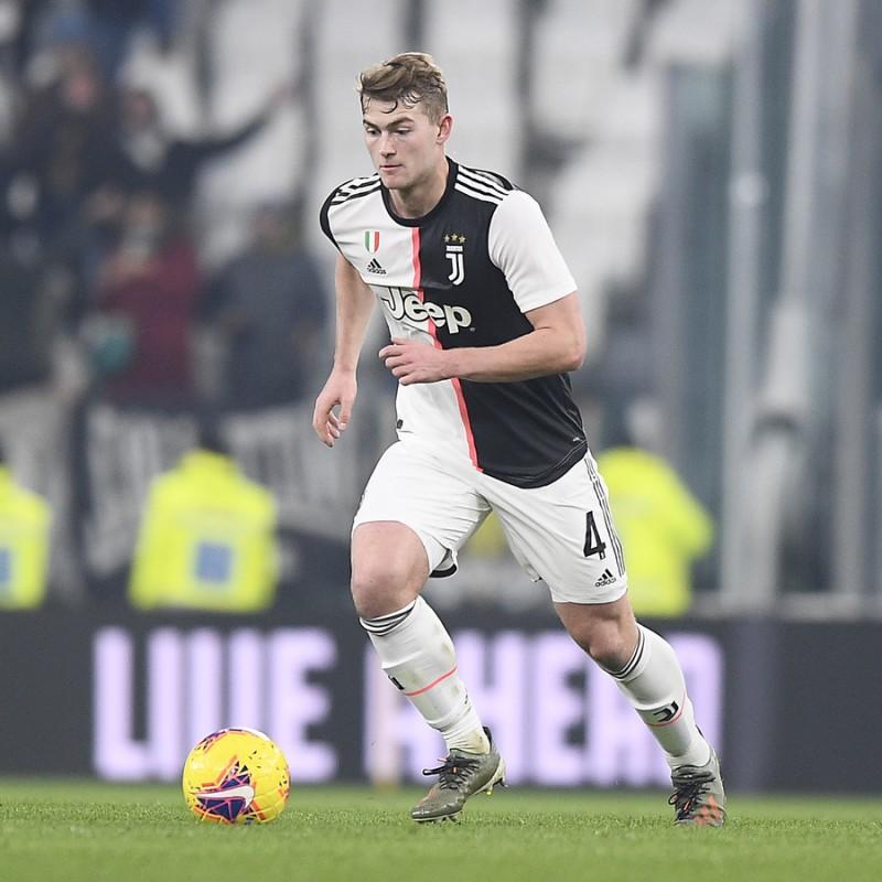 De Ligt's Authentic Juventus Signed Shirt, 2019/20