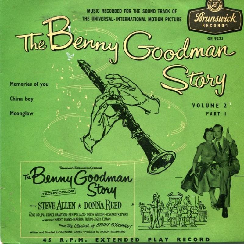 """The Benny Goodman Story Volume 2 Part 1"" Vinyl Single - Benny Goodman, 1956"