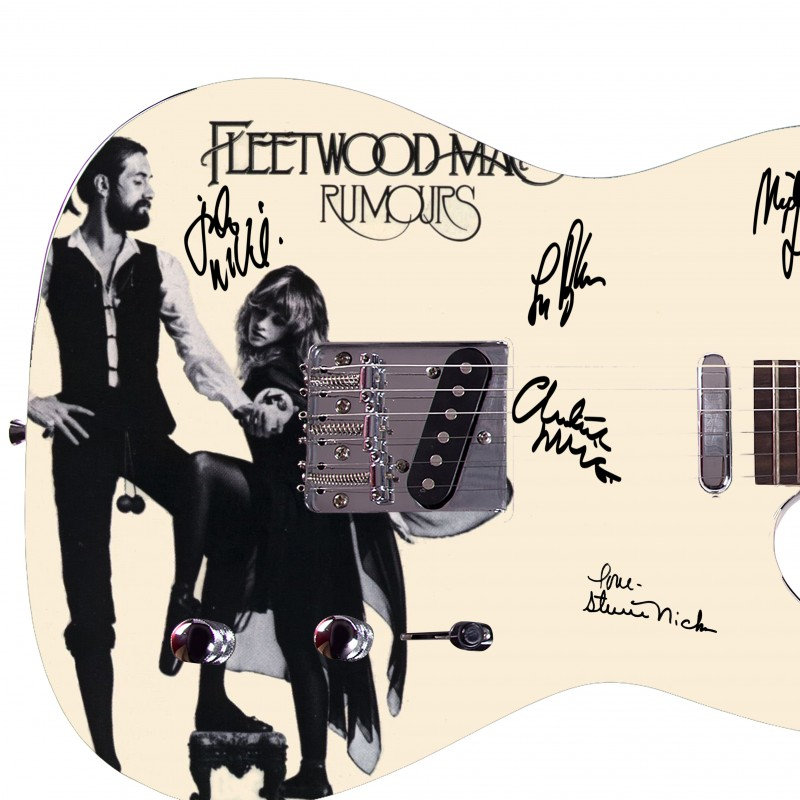 """Fleetwood Mac"" Custom Graphics Guitar"