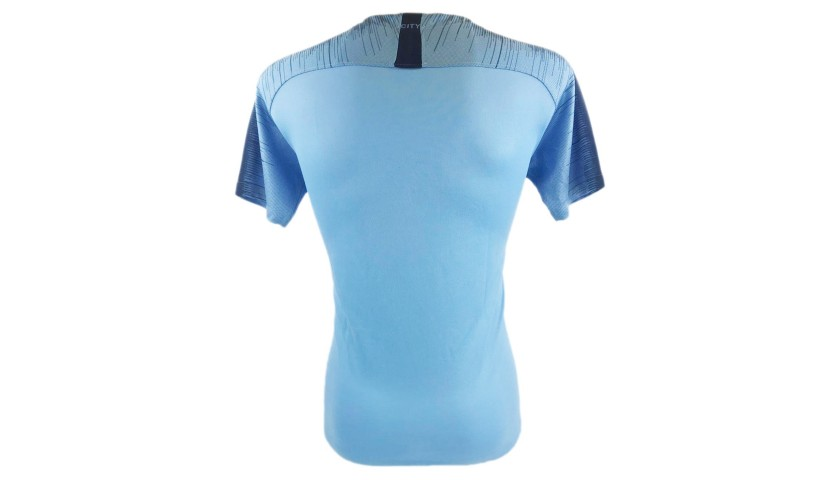 Official Manchester City Shirt 2018/19 - Signed by the Players