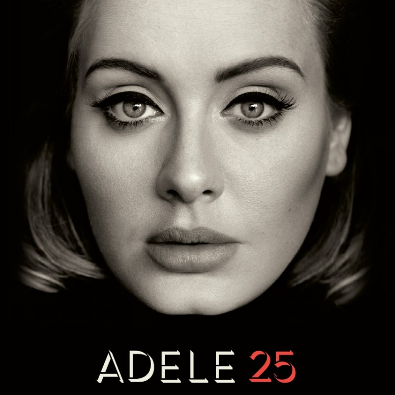 "Album ""25"" Signed by Adele"