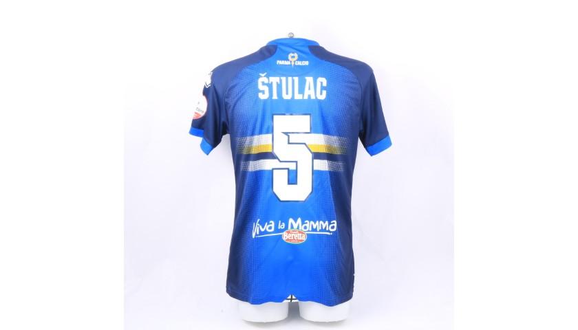 Stulac's Worn Shirt, Parma-Sampdoria - #Blucrociati