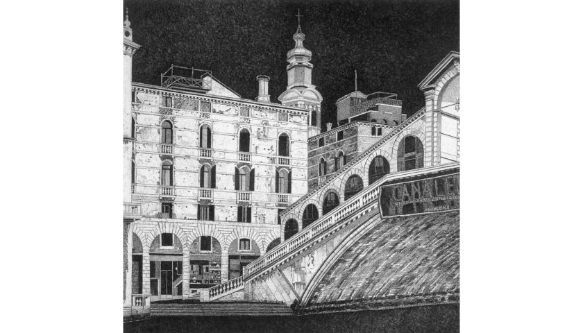 """""""Venezia - Ponte di Rialto"""" by Federica Galli"""