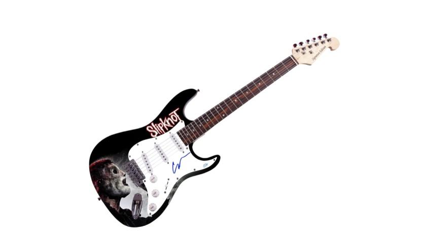 Slipknot Corey Taylor Autographed Graphics Guitar