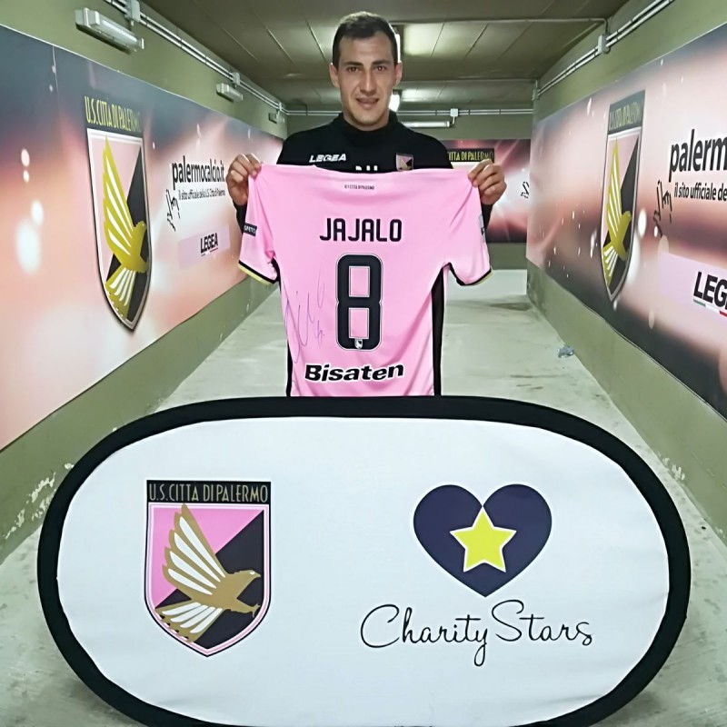Jajalo's Signed Match-Worn 2018 Palermo-Pescara Shirt