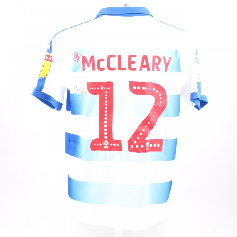 McCleary's Match-Worn Reading FC Signed Poppy Home Shirt