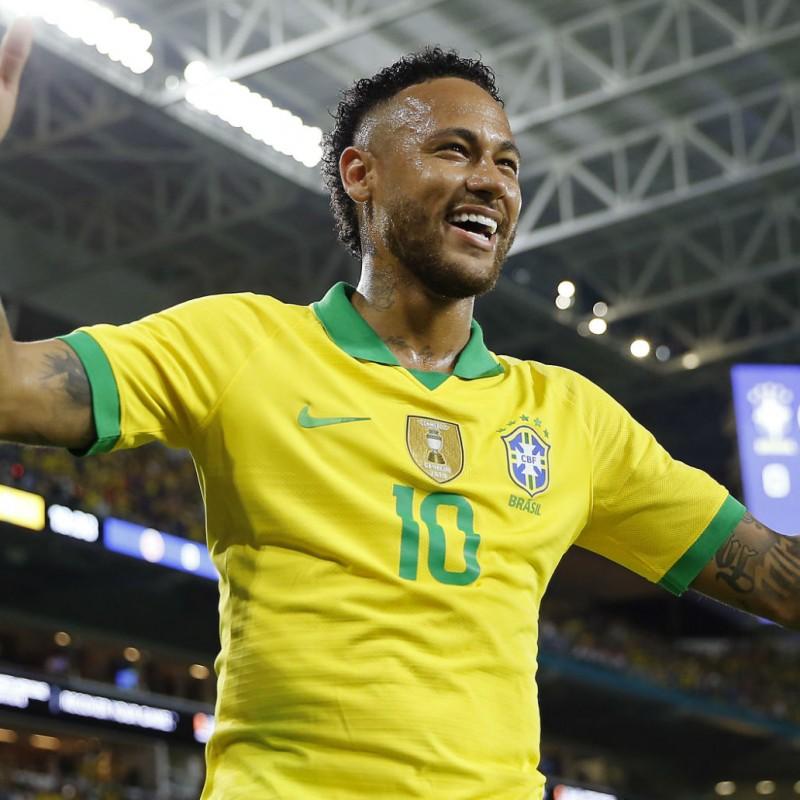 Neymar's Match Shirt, Brazil-Peru 2019
