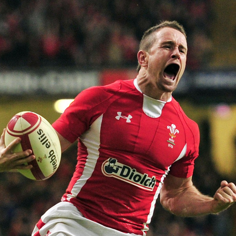 Shane Williams Signed Rugby Shirt