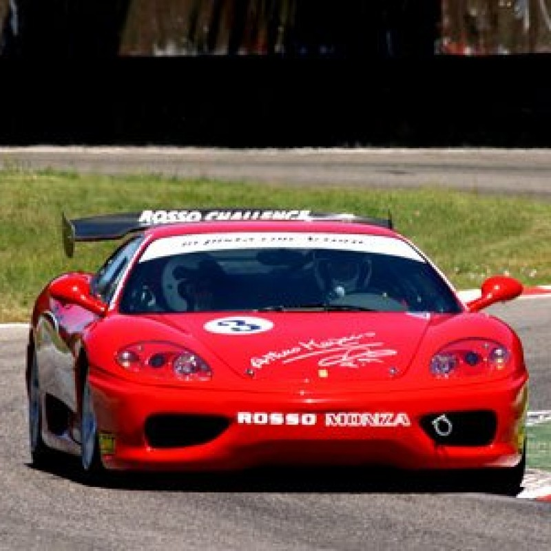 Enjoy 2 Laps in the Passenger's Seat of a Ferrari 360 F1 GT3