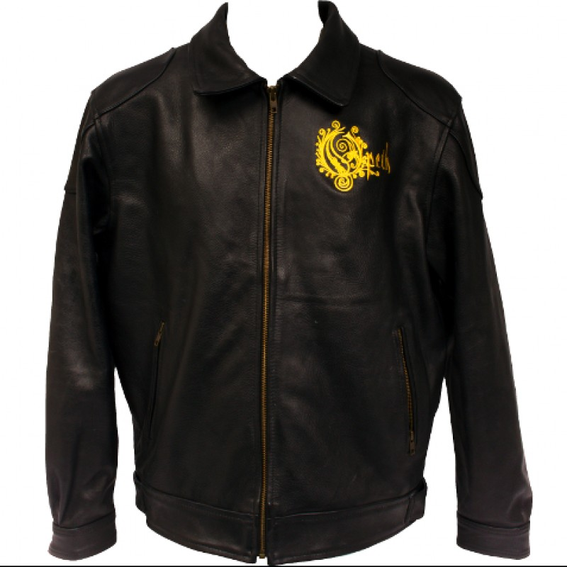Opeth Leather Jacket and 25th Anniversary Denim Jacket