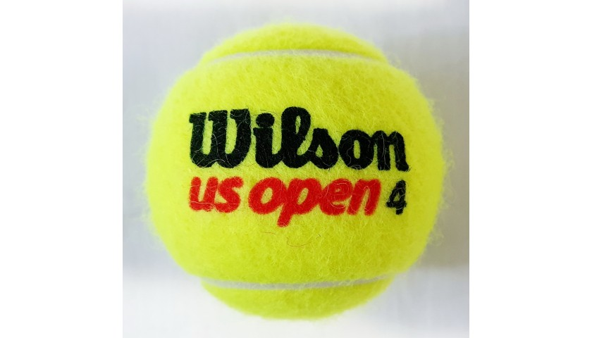 Wilson US Open Tennis Ball Signed by Serena Williams