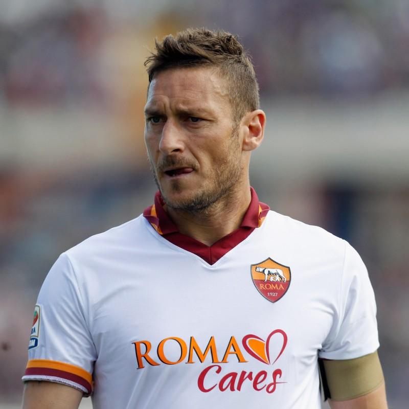 Maglia ufficiale Totti Roma, 2013/14 - Autografata