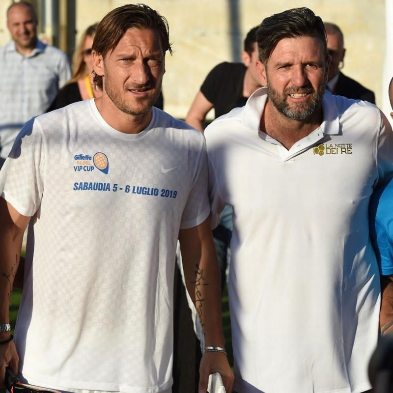T-Shirt Worn by Francesco Totti - Paddle Tournament 2019
