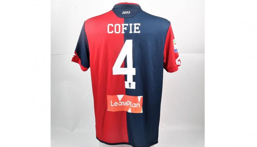 Cofie's UNWASHED Special Genoa-Sampdoria Bench-Worn Shirt