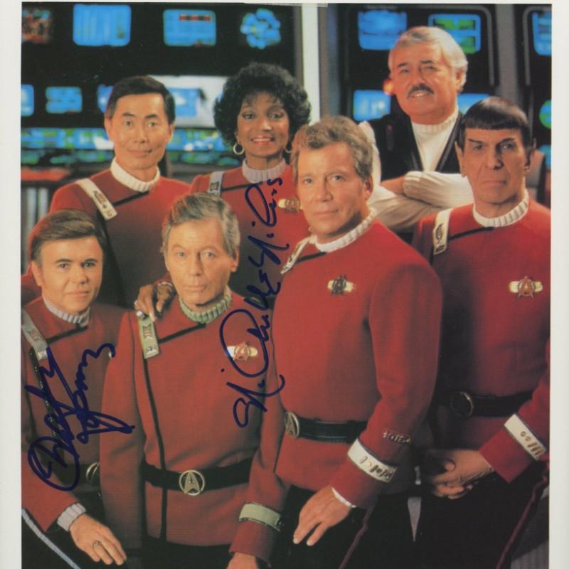 Star Trek Signed Photograph