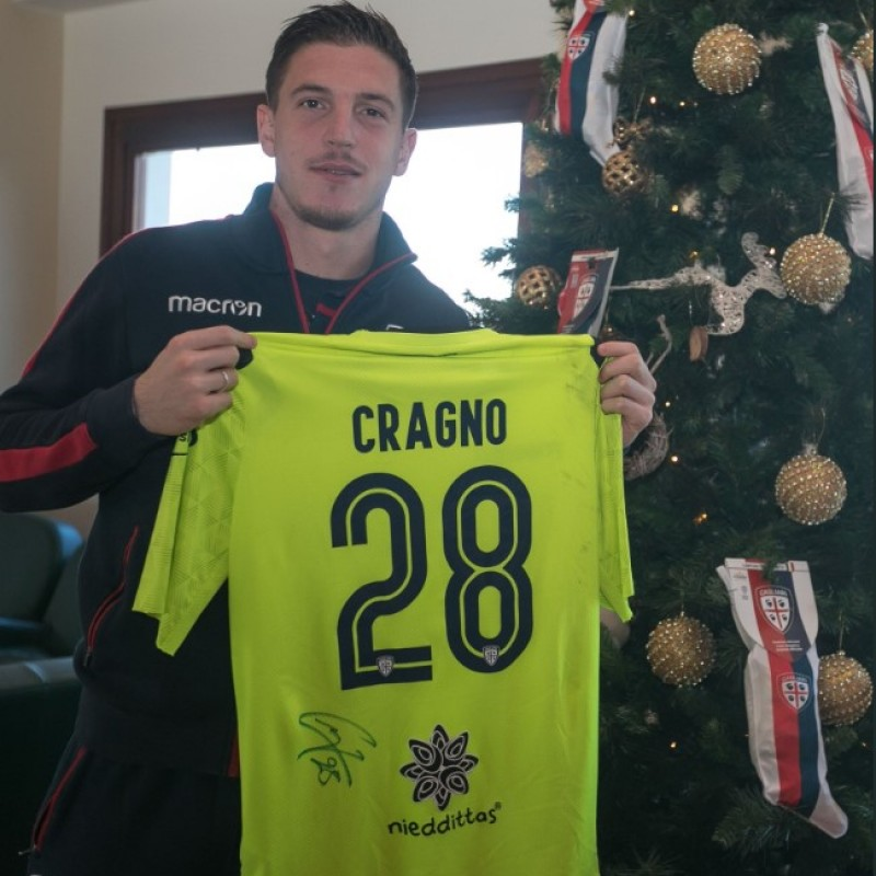 Cagliari Festive Shirt - Worn and Signed by Cragno