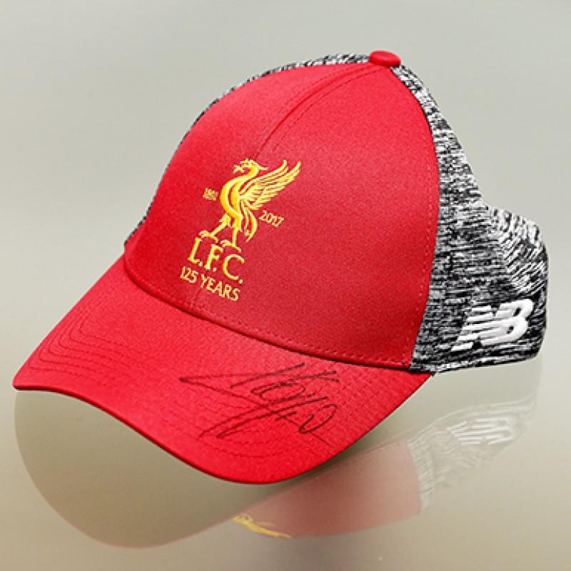 624490c0e Official LFC Jurgen Klopp Signed Cap