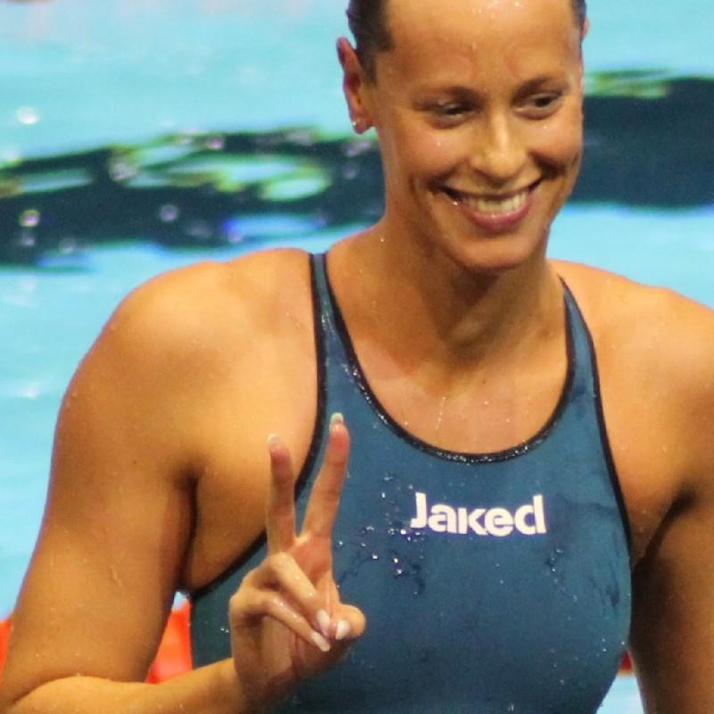 Swimsuit worn by Federica Pellegrini