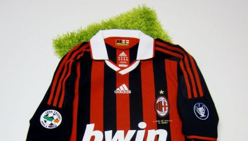 Milan fanshop shirt, Pato, Serie A 2009/2010 - signed ...