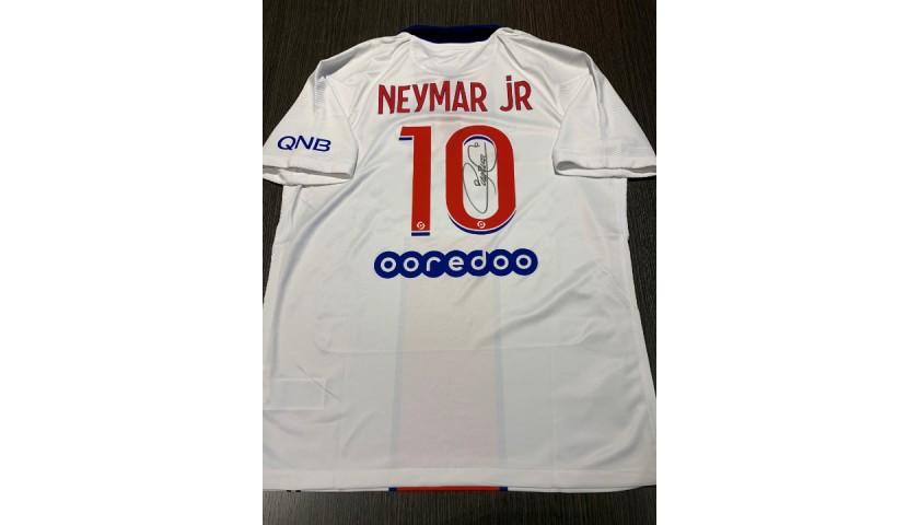 Neymar's Official PSG Signed Shirt, 2020/21