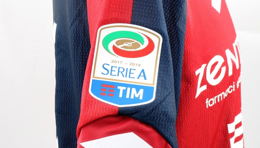 Veloso's UNWASHED Special Genoa-Sampdoria Match-Worn Shirt