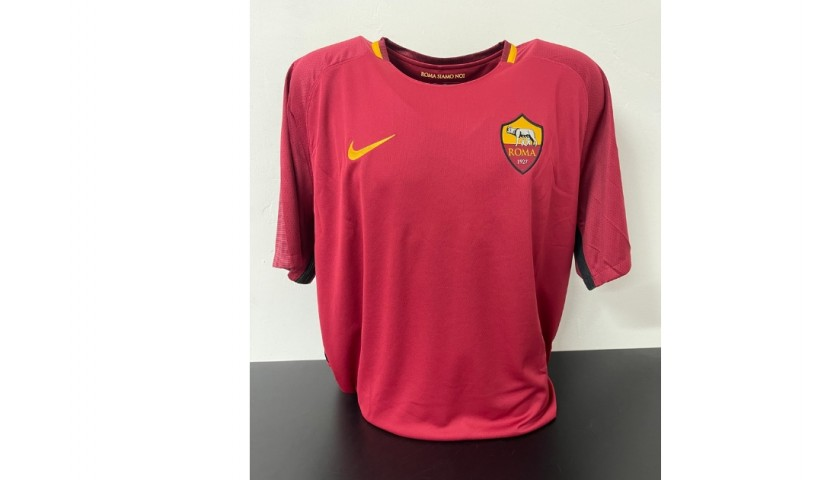 Florenzi's Official Roma Shirt, Totti Last Match - Signed  by players