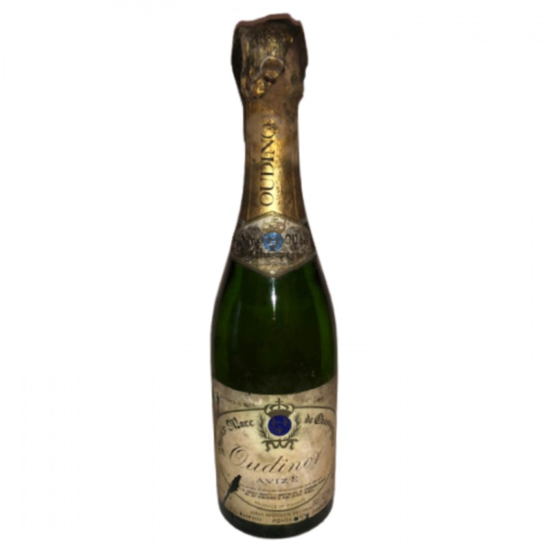 Bottle of Grappa Champagne - Oudinot Avize Brut Marc