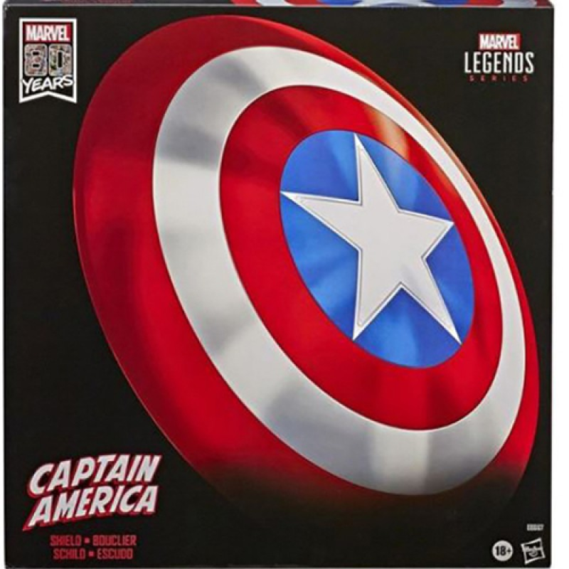 Captain America Shield signed by Chris Evans