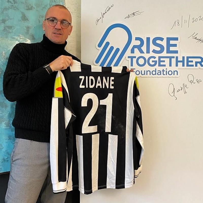 Zidane's Juventus Worn Shirt, 2000/01