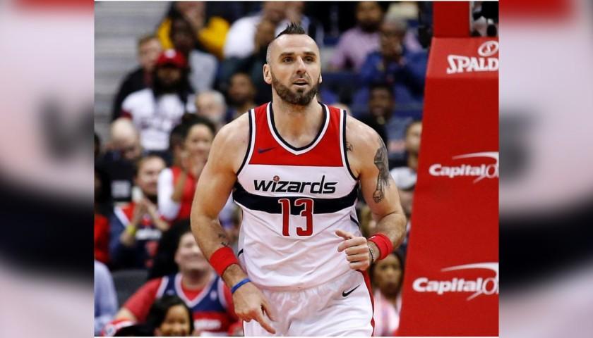 Marcin Gortat's Official Washington Wizards Signed Jersey